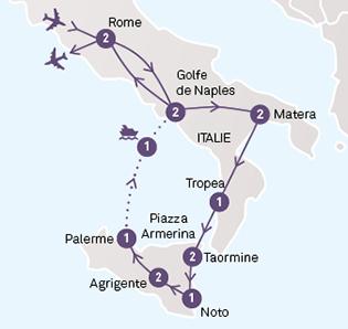 Italie Du Sud Amp Sicile Tours Chanteclerc