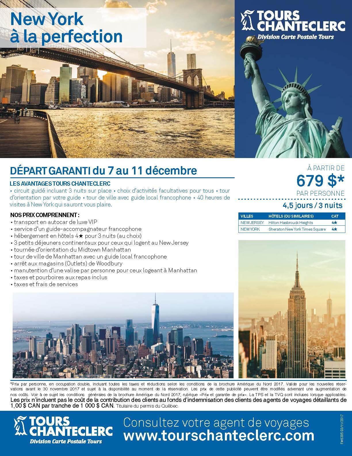 F#6395-New York à la perfection